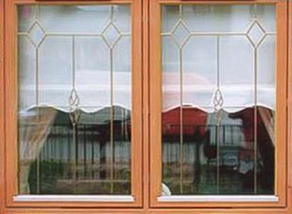 leaded window design