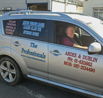 the professionals car